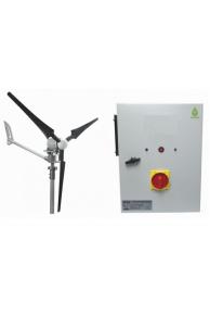 Set İ-2000W 48V Windsafe Korumalı Rüzgar Türbini + Hibrit Şarj Kontrol Cihazı iSTA-BREEZE
