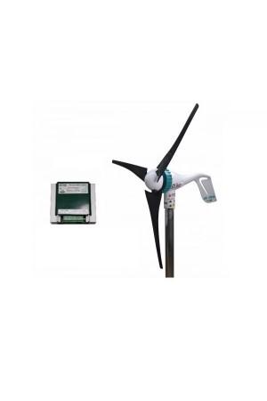 Set Air Speed 500W 12V Rüzgar Türbini + Hibrit Şarj Kontrol Cihazı  iSTA-BREEZE