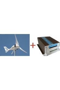 Set İ-500 Rüzgar Türbini + Hibrit Şarj Kontrol Cihazı İSTA-BREEZE