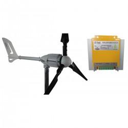 Set İ-1000W 48V Rüzgar Türbini + Hibrit Şarj Kontrol Cihazı iSTA-BREEZE