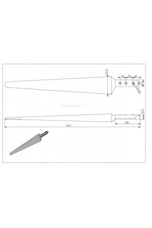 5x 107cm Kanat