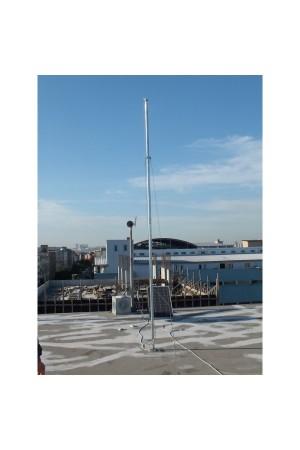 Rüzgar Türbini için Direk Seti 4 metre (15 kg) taşıma kapasiteli