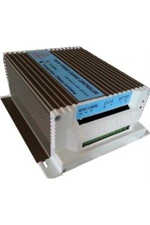 i-500 rüzgar türbini ile  hibrit şarj kontrol cihazı seti