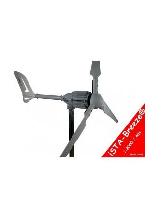 Set İ-2000W 48V Rüzgar Türbini + Hibrit Şarj Kontrol Cihazı iSTA-BREEZE