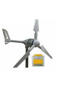 Set İ-700 W 12V Rüzgar Türbini + Hibrit Şarj Kontrol Cihazı iSTA-BREEZE