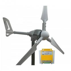 Set İ-700W 24V Rüzgar Türbini + Hibrit Şarj Kontrol Cihazı iSTA-BREEZE