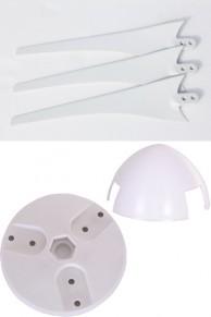 50 cm Kanat seti beyaz